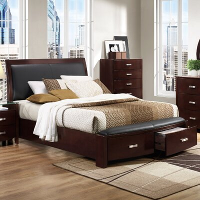 Rushmere Upholstered Platform Bed Size: King