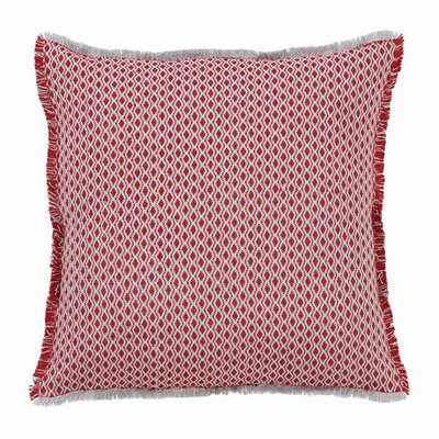 Australe Frayed Throw Pillow