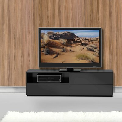 Britt TV Stand Finish: Black