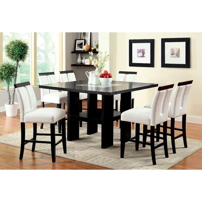 Equuleus 7 Piece Counter Height Pub Dining Set