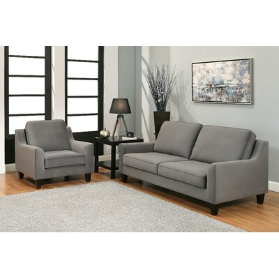 Duponta Fabric Sofa and Armchair Set