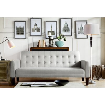 Fomalhaut Tufted Sleeper Sofa Upholstery: Gray