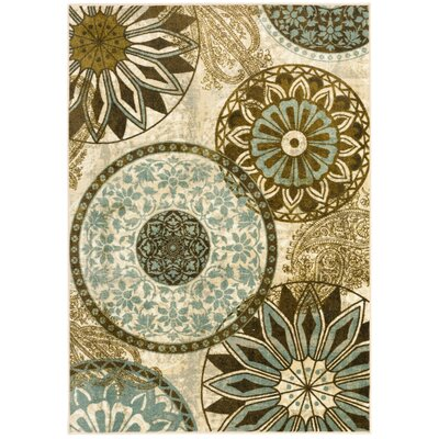 Claireville Area Rug Rug Size: 5 x 7