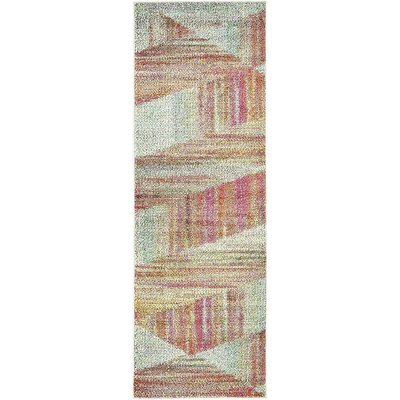 Jonathan Pink/Brown Area Rug