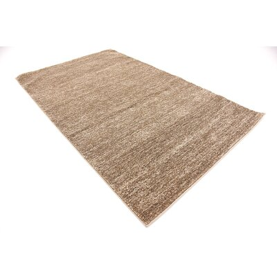 St Philips Marsh Light Brown Area Rug Rug Size: 5 x 8