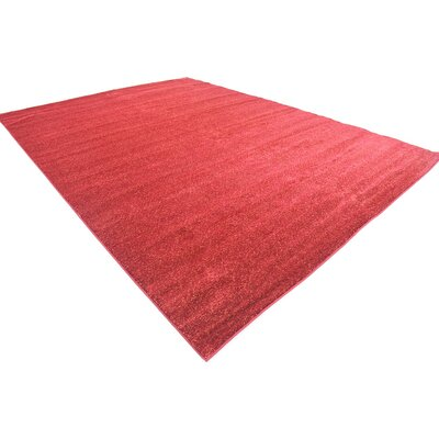 St Philips Marsh Red Area Rug Rug Size: 10 x 13