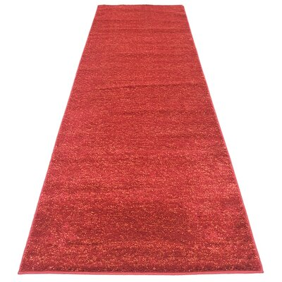 St Philips Marsh Red Area Rug Rug Size: 7 x 10