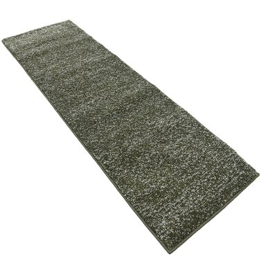 St Philips Marsh Green Area Rug Rug Size: Runner 22 x 67