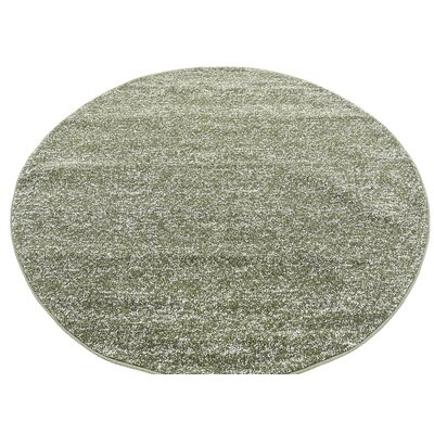 St Philips Marsh Green Area Rug Rug Size: Round 6