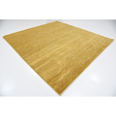 St Philips Marsh Yellow Area Rug Rug Size: Square 8