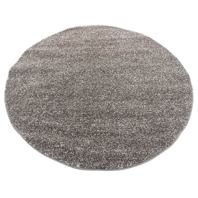 St Philips Marsh Brown Area Rug Rug Size: Round 6