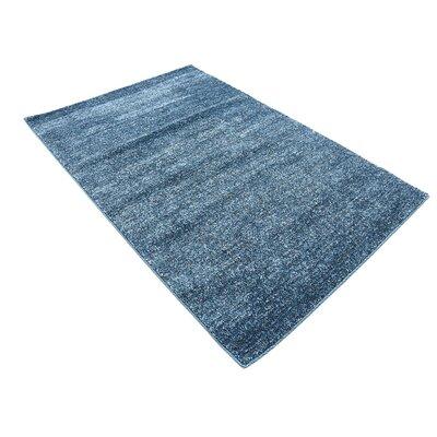 St Philips Marsh Blue Area Rug Rug Size: 4 x 6