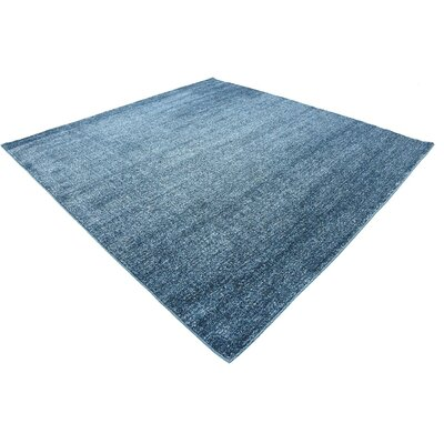 St Philips Marsh Blue Area Rug Rug Size: Square 8
