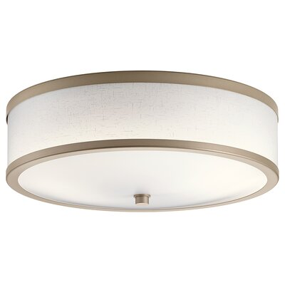 Fornax 2-Light Flush Mount