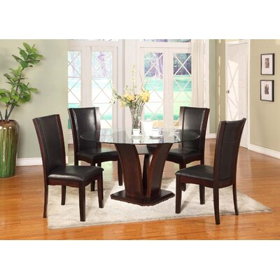 Herculis 5 Piece Dining Set