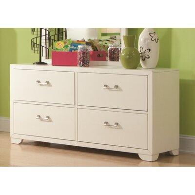 Clarksville 4 Drawer Double Dresser