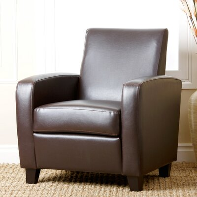 Hydrus Armchair Upholstery: Dark Brown