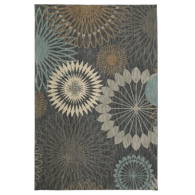 Andromedae Gray/Ivory Area Rug Rug Size: Rectangle 96 x 1211