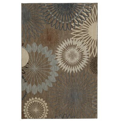 Andromedae Brown Area Rug Rug Size: Rectangle 53 x 710