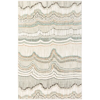 Andromedae Gray Area Rug Rug Size: Rectangle 53 x 710