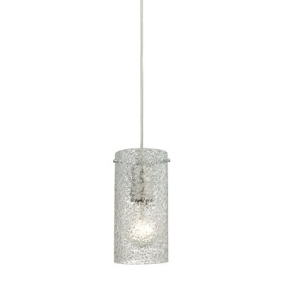 Dutchess 1-Light Mini Pendant Shade Color: Clean