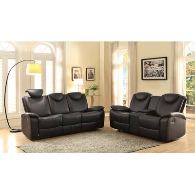 Erik Double Glider Reclining Love Seat
