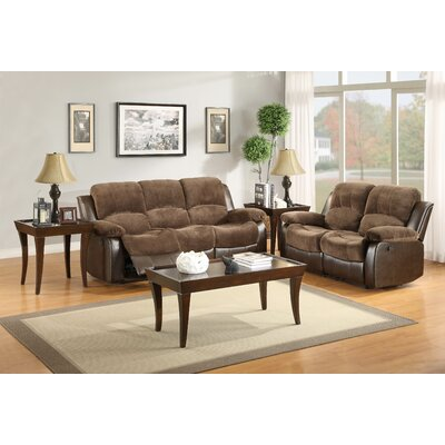 Latitude Run LATR8262 Alec Double Reclining Loveseat