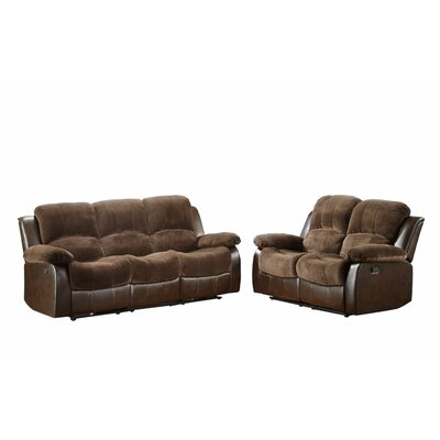 Wagnon Double Reclining Sofa