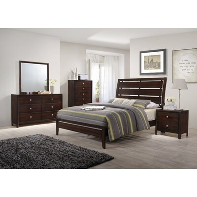 Chara Panel Customizable Bedroom Set