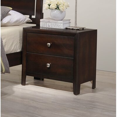 Chara 2 Drawer Nightstand by Simmons Casegoods