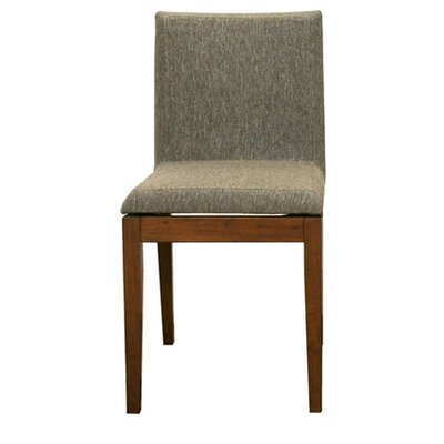 Serpens Square Parsons Chair Chair Upholstery: Moira Brown