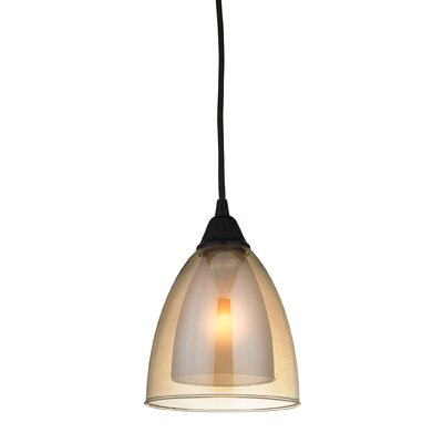 Albany 1-Light Mini Pendant Finish: Oil Rubbed Bronze