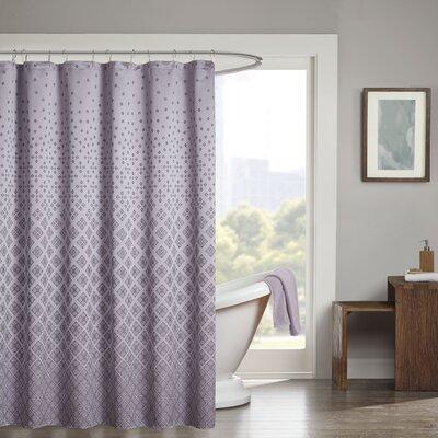 Gold Coast Shower Curtain Color: Purple
