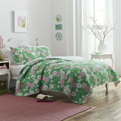 Batelov Garden Quilt Set Size: Full/Queen