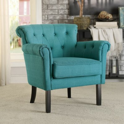 Kelvin Arm Chair Upholstery: Blue