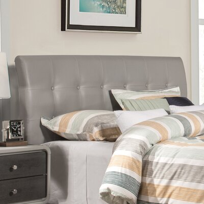 Griffith Upholstered Panel Headboard Size: King
