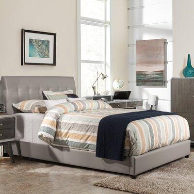 Gosford Upholstered Panel Bed Size: Queen