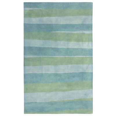 Vicente Hand-Tufted blue Area Rug Rug Size: 8 x 10