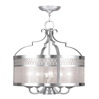 Johnstown 6-Light Drum Pendant