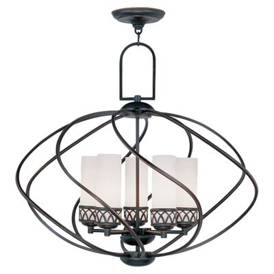 Johnstown 5-Light Globe Pendant