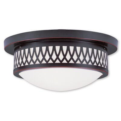 Johnstown  Flush Mount Finish: Olde Bronze