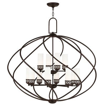 Johnstown 12-Light Globe Pendant Finish: Olde Bronze