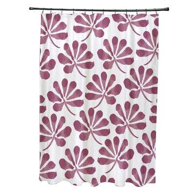 Velasquez Shower Curtain Color: Purple