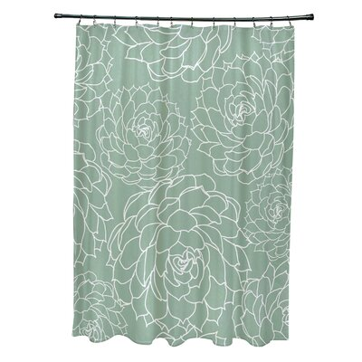 Velasquez Shower Curtain Color: Green