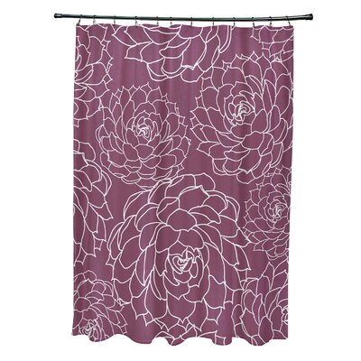 Velasquez Shower Curtain Color: Purple