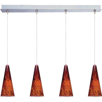 Lamptrai Lava 4-Light RapidJack Pendant and Canopy