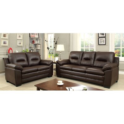 Brentry Sofa Upholstery: Brown