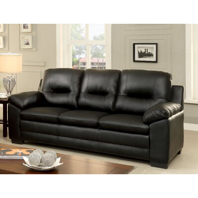 Brentry Sofa Upholstery: Black
