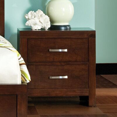 Acton Turville 2 Drawer Nightstand