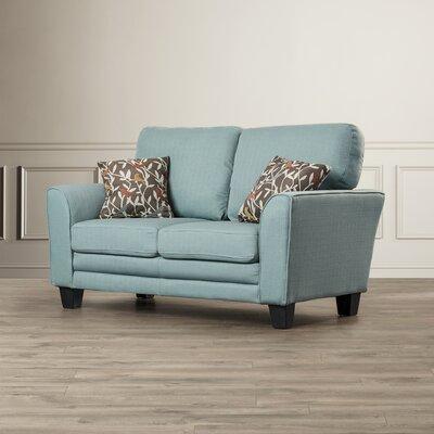 St Philips Loveseat Upholstery: Teal